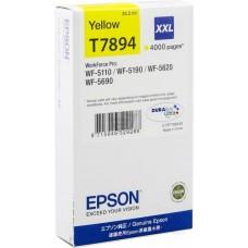 Картридж струйный EPSON T7894 Yellow XXL (C13T789440)