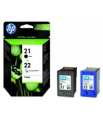 Картридж  HP 21 Black/22 Tri-color (SD367AE)