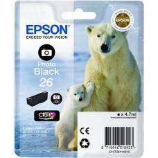 Картридж Epson T2611 (C13T26114010)