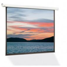 Экран с электроприводом Classic Lyra (1:1) 182x182 (E 177x177/1 MW-S0/W)
