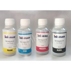 Набор чернил Inkmate, 4шт. по 100 мл, сублимационные, Корея (TIM40)