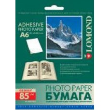 Самоклеющаяся бумага LOMOND A6, 85 г/м2, 25 л. (2413003)