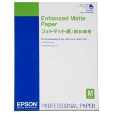 Фотобумага Epson Enhanced Matte Paper A2 (C13S042095)