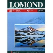 Фотобумага Lomond 200 г/м, глянец, А3 50л. Код 0102024