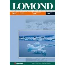 Фотобумага Lomond Матовая А4 205 г/кв.м. 50 листов (0102085)