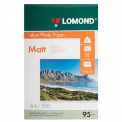 Фотобумага Lomond  матовая 1*95г,100л,А4 (0102125)