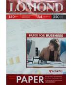 Фотобумага Lomond глянцевая A4 150 г/кв.м. 250 листов (0102133)