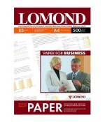 Фотобумага Lomond, двустор Матовая/Матовая, A4,85 г/м2, 500л (0102134)