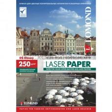 LOMOND Глянцевая фотобумага для полноцветной лазерной печати , 250 г/м2, А4, 150 л. (0310441)