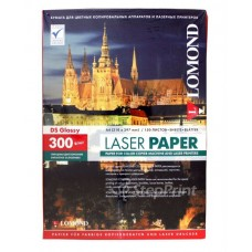 Фотобумага Lomond 300 гр/150 л, глянцевая, двухсторонняя для лазерной печати (0310743)