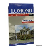 Lomond Пленка Pet Ink Jet Film – прозрач, А4, 135 Мкм, 50 Л (07084151)