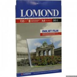 Lomond Пленка Pet Ink Jet Film – прозрач, А4, 135 Мкм, 50 Л (07084151)