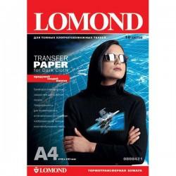 Фотобумага Lomond термопереводная на темн ткан А4, 50л (0808425)