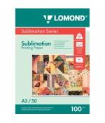 Фотобумага Lomond сублимационная A3, 100 г/м2, 50 л (0809315)
