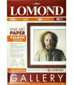 Бумага Lomond Fine-Velour Natural White DS - бархатная фактура, А4, 170 г/м2, 10 л (0911041)