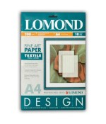 Фотобумага  Lomond Ткань/Textile, 200 г/м2, А4,мат,10л  (0919041)