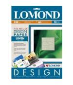 Фотобумага  Lomond Лён (Linen), Мат, A4, 230 г/м2, 10л (0933041)