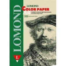 Офисная цветная бумага, Lomond, Cream (Светло-желтый), A4, 80 г/м2, 200л. (1004208)