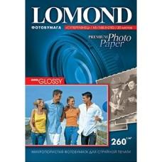 Фотобумага Lomond с/глянцевая 1х260г/360л,А4 (1103107)