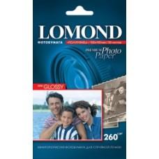 Фотобумага Lomond 260 г/м2 односторонняя Semi-Glossy 20л А6 (10x15) (1103302)