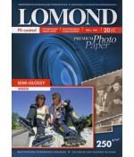 Фотобумага Lomond п/глянецевая 1*250г,20л,10х15см (1103305)
