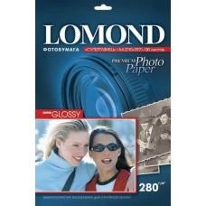 Фотобумага Lomond суперглянцевая, тепло-белая, A3 280 г/кв.м. 20 л. (1104102)