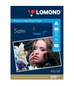 Фотобумага Lomond Satin Warm, A3, 270 г/м2, 20л (1104103)