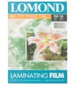 Lomond Пленка  для ламинирования матовая 80мкм,50л,А4 (1301141)