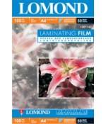 Lomond Пленка  для ламинирования матовая 100мкм,50л,А4 (1301142)