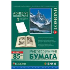 Lomond Самоклеющаяся глянц. А4 85 г/кв.м. 25 листов (2410003)
