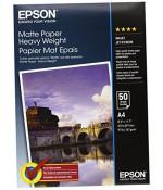Фотобумага Epson Matte Paper-Heavyweight A4 (50 листов) (C13S041256)