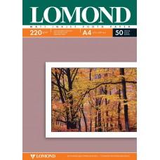Фотобумага LOMOND 220/A4/50л. матовая двухсторонняя 0102144