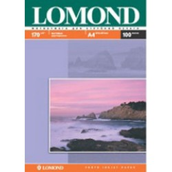 Фотобумага Lomond Матовая двухсторонняя A4 170 г/кв.м. 100 л. (0102006)