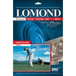 Lomond суперглянцевая односторонняя A4 295 г/кв.м. 20 л. (1108101)