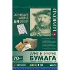Фотобумага Lоmond наклейка A4/50/64 (2100205)