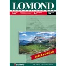 Фотобумага Lomond Глянцевая A4 140 г/кв.м. 50 листов (0102054)
