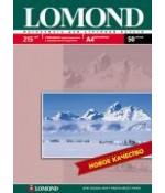 Фотобумага Lomond Глянцевая А4 215 г/кв.м. 50 листов (0102057)